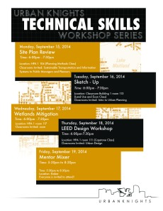 Urban Knights Technical Skills Flyer